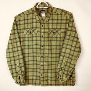 Patagonia Organic Cotton Flannel Shirt XXL